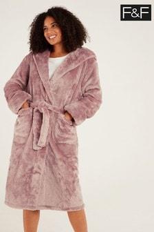 F&F Pink Silky Robe
