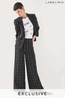 Mix/Rejina Pyo Wide Leg Check Trouser