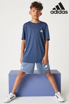 adidas Blue Reversible Shorts