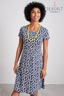 Seasalt Blue Carnmoggas Dress