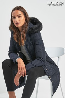 Lauren By Ralph Lauren Navy Down Jacket