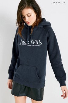 Jack Wills Borrowfield Heritage Longline Hoody