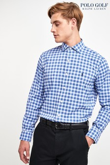 Ralph Lauren Polo Golf Indigo Check Shirt
