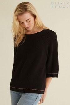 Oliver Bonas Black Leyla Sweater