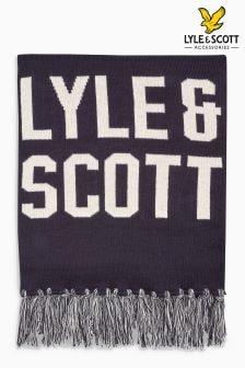 Lyle & Scott Schal mit Logo