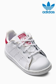 adidas Originals White/Pink Stan Smith
