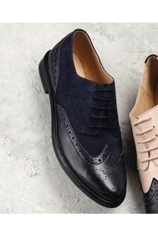 Signature Comfort Leather Brogues