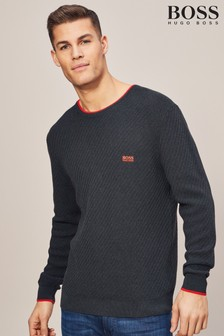 BOSS Black Ridney Crew Neck Jumper