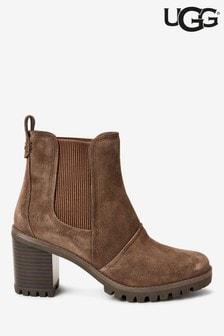 UGG® Hazel Heeled Ankle Boots