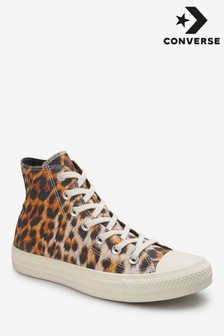 Converse Leopard Chuck High Top Trainer