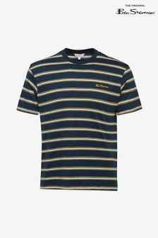 Ben Sherman Navy Vintage Stripe T-Shirt