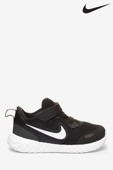 Nike Black/White Revolution 5 Infant Trainers