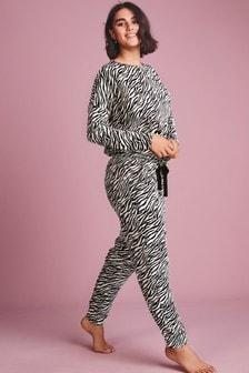 Zebra Print Pyjamas