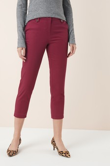 Brushed Capri Trousers