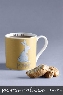 Personalised Mummy Hare Mug