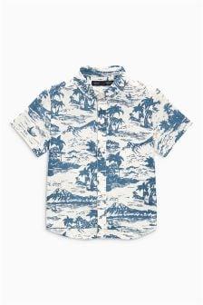 T-shirt à imprimé hawaïen (3 mois - 6 ans)