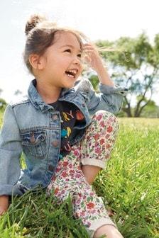 Походные брюки в цветочек (3 мес.-6 лет)