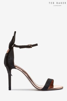Ted Baker Black Bow Sandals