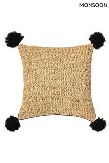 Monsoon Large Straw Cushion