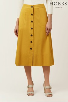 Hobbs Yellow Celine Skirt