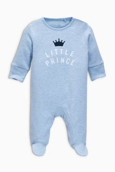 Little Prince Sleepsuit (0mths-2yrs)