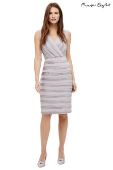 Phase Eight Smoke Sadie Layered Dress