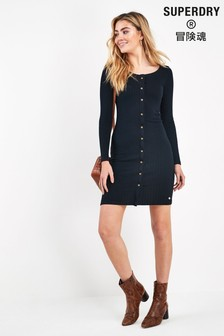 Superdry Navy Mini Dress