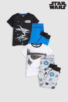 Komplet dveh kratkih pižam Star Wars™ (3–12 let)