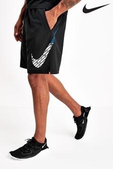 Nike Black Flex Woven Graphic Shorts