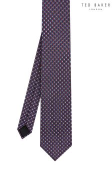 Ted Baker Purple Meerum Geometric Tie
