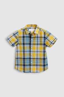 Short Sleeve Check Shirt (3mths-6yrs)
