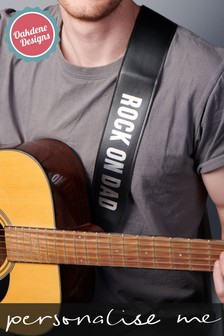 Personalised Guitar Strap by Oakdene Designs