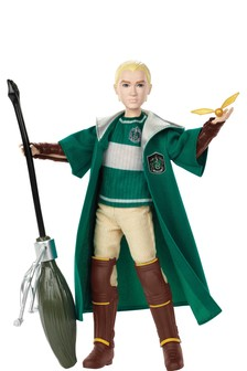 """Harry Potter Draco Malfoy Collectible Quidditch Doll 10½"""""""