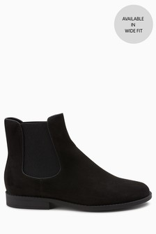 eb134688ac20 Black · Berry · Piping Detail Chelsea Boots