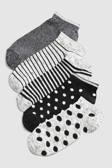 Trainer Socks Five Pack (Older)