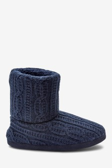 Warm Lined Slipper Boots (Older)