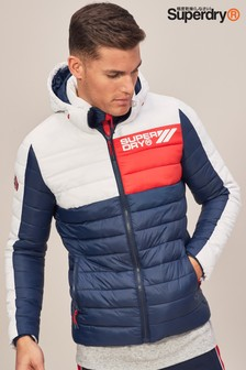 Superdry Navy Colourblock Fuji Jacket