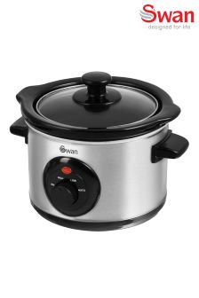 Swan Small Stainless Steel Slow Cooker