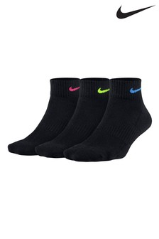 Nike Adult Cushioned Ankle Socks Three Pack