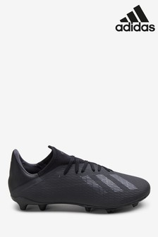 adidas Black Dark Script X Firm Ground Football Boots
