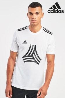 adidas White Tango T-Shirt
