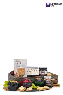 Cheese And Crackers Hamper by Lanchester Gifts