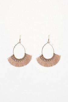 Fringed Drop Earrings