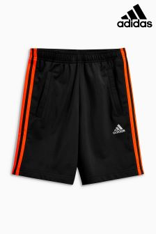 adidas Black Predator 3 Stripe Short
