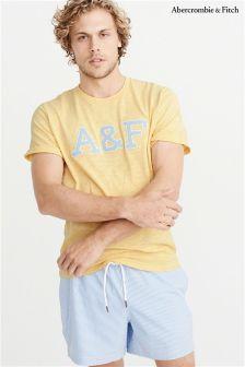 Abercrombie & Fitch Script Logo T-Shirt