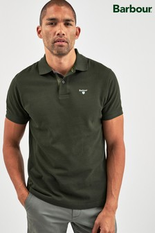 Barbour® Green Tartan Polo