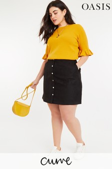 f53ae709c40 Buy Women s skirts Curve Curve Black Black Skirts Oasis Oasis from ...