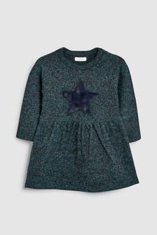 Star Knitted Dress (3mths-6yrs)