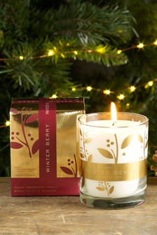 Winter Berry Collection Luxe Candle