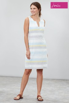 Joules Elayna Notch Neck Shift Dress